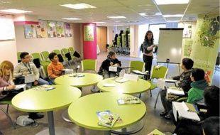 Florence Trébuchon, allergologue a rencontré les membres du conseil municipal des enfants.