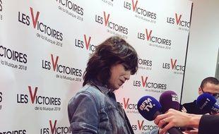 Charlotte Gainsbourg a reçu la Victoire de l'artiste féminine de l'année.