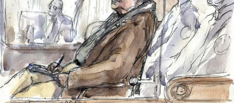 Le terroriste Carlos, lors son procès à Paris, le 13 décembre 2011.