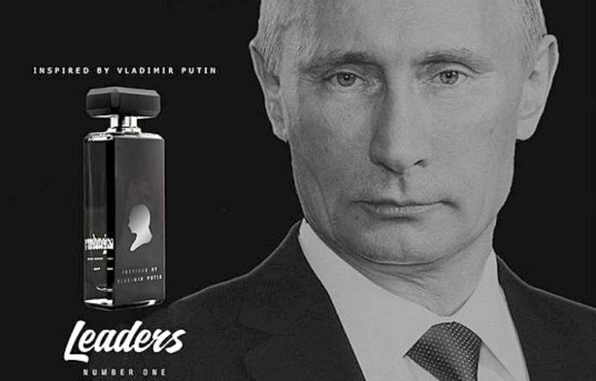 Un parfum inspiré par Vladimir Poutine est vendu en Russie. – Vladislav Rekunov