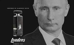 Un parfum inspiré par Vladimir Poutine est vendu en Russie.