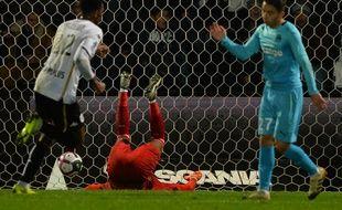 L'ouverture du score de Bahoken pour Angers à la 36e.