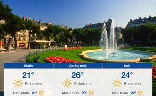 Météo Grenoble: Prévisions du dimanche 13 juin 2021