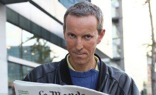 Le journaliste du Monde Gérard Davet