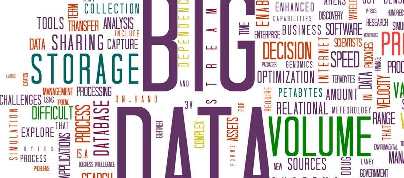 Illustration du big data.