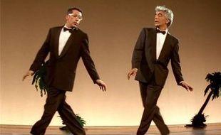 Il y a 25 ans, Gérard Darmon et Alain Chabat dansaient la «carioca» dans «La Cité de la peur».
