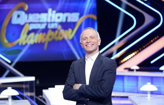 Samuel Étienne, nouvel animateur de Questions pour un champion.
