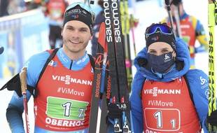 Julia Simon et Emilien Jacquelin vainqueurs à Oberhof