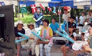 Comme tous les sportifs à Londres, Kazunari Watanabe, un cycliste sur piste japonais, rêve d'un podium olympique, mais lui court aussi pour donner du courage à sa famille et toute une région: il habitait près de la centrale nucléaire de Fukushima.
