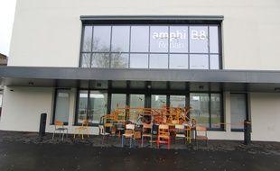 Le campus Villejean de l'université Rennes 2 a été bloqué par des étudiants opposés à la sélection à l'université, le 1er février 2018.