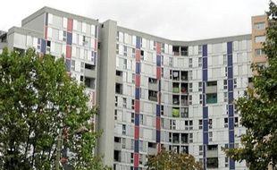 Dans le quartier de la Villeneuve, à Grenoble.