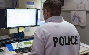 La police aux frontières