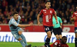 Stevan Jovetic a offert le premier but aux Monégasques à Lille.