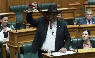 Le député du Parti maori, RawiriWaititi.