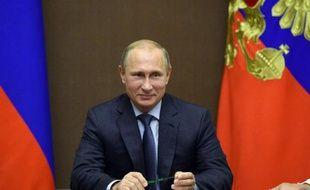 Le président russe Vladimir Poutine, le 11 octobre 2014 à Sotchi