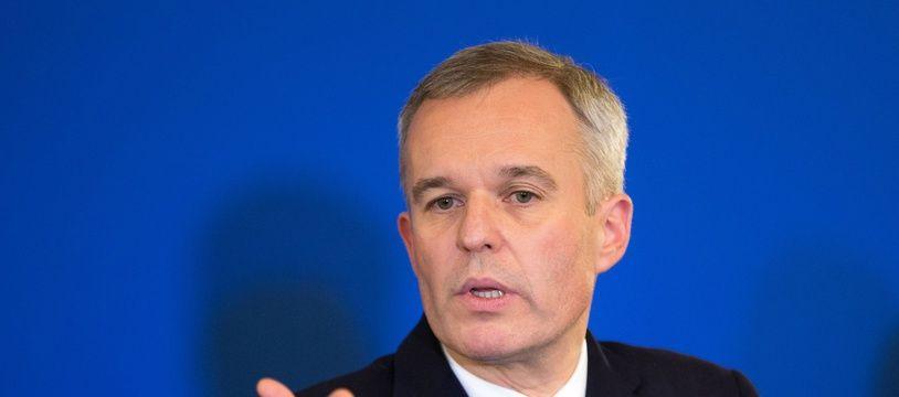 Le ministre de la Transition écologique François de Rugy.