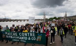 Les gilets jaunes se sont joints à la marche contre Monsanto & Co organisée ce samedi à Bordeaux.