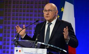 Le ministre des Finances Michel Sapin, le 30 mars 2016.