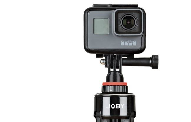 Un adaptateur spécifique pour la GoPro est fourni.