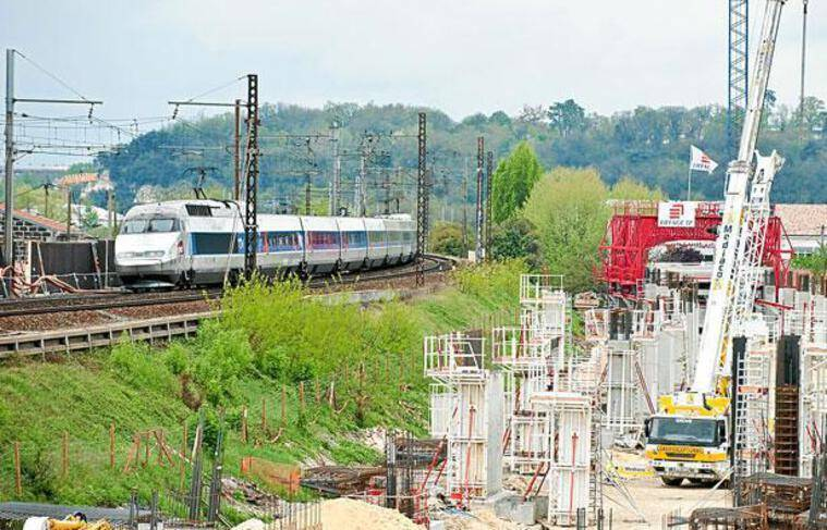 Chantier de suppression du bouchon ferroviaire
