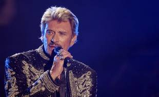 Johnny Hallyday à Paris, en 2006.