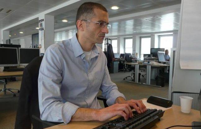 Sylvain Crépon, spécialiste de l'extrême droite, à la rédaction de 20 Minutes.