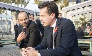 Edouard Philippe et Christophe Béchu en 2017. (archives)