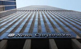 Le siège de News Corporation à New York, le 14 juillet 2011
