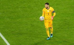 Hugo Lloris lors de France-Allemagne à l'Euro, le 15 juin 2021.