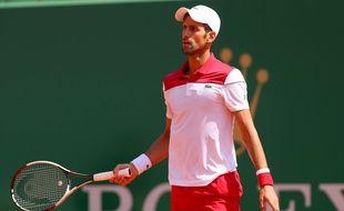 Novak Djokovic a perdu à Monte-Carlo
