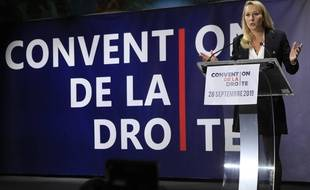 Marion Maréchal à la Convention de la droite, Paris le 28 septembre 2019.