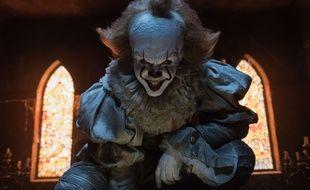 le clown Grippe-sou dans le film «Ça», adapté du roman de Stephen King.