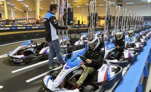 Karting Nantes a ouvert ses portes mercredi.