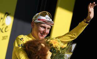Tadej Pogacar a remporté le Tour de France.