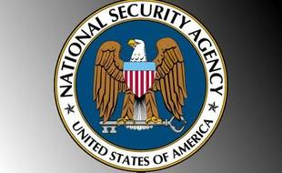 Le logo de la NSA (National security agency).