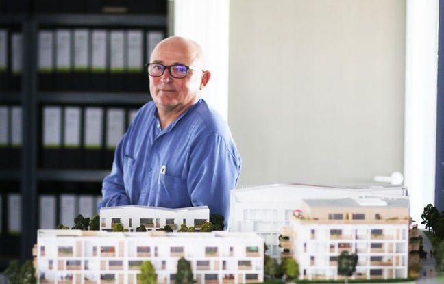 L'architecte bordelais Patrick Baggio