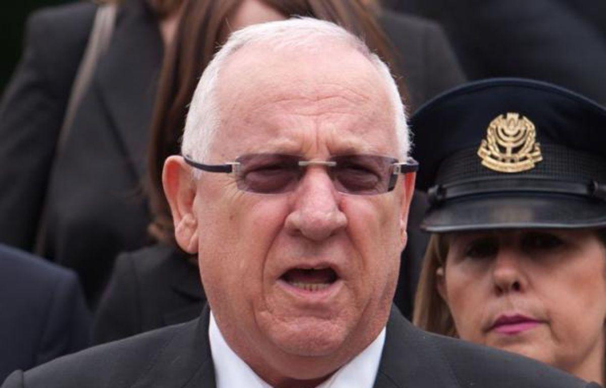 Le président du Parlement israélien Réuven Rivlin a critiqué mardi le choix par le président américain Barack Obama de l'ex-sénateur Chuck Hagel comme secrétaire à la Défense. – Sebastian Kahnert afp.com