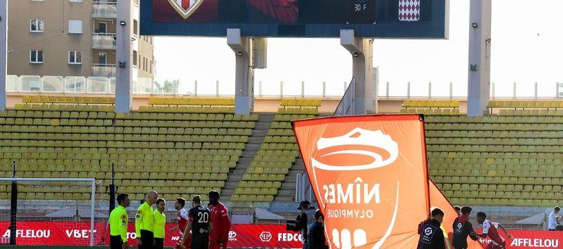 Nîmes Olympique en L1, c'est terminé.