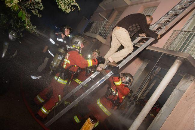 Une vingtaine de personnes ont été évacuées.