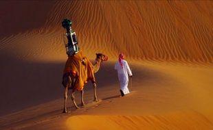Désormais, Google Maps propose une street view du désert de Liwa (Emirats Arabes Unis), réalisée à dos de dromadaire.