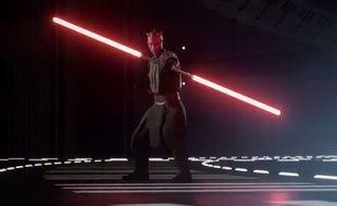 Capture d'écran du trailer de «Star Wars Battlefront II».
