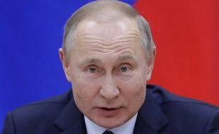 Vladimir Poutine, le 13 février 2020 à Moscou.
