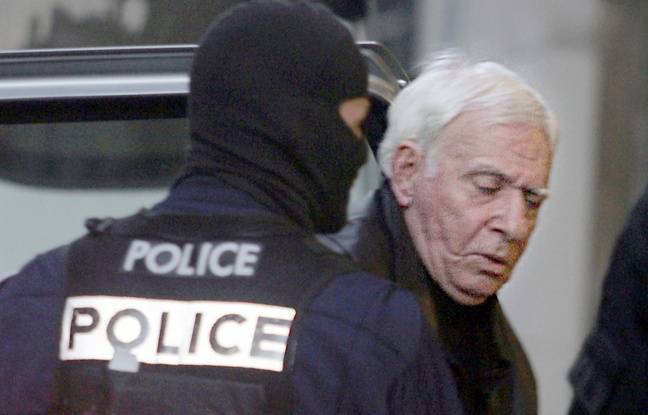 Jacky Imbert, dit « Le Mat », lors de son procès pour un trafic de cigarettes en liaison avec la mafia russe, en 2004.