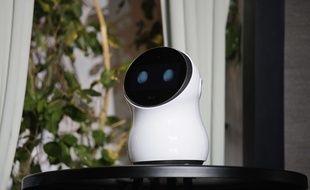 CLOi, le petit robot de LG, a connu des ratés au CES, le 8 janvier 2017.