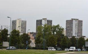 Le quartier du Val Fourré, à Mantes-la-Jolie (Yvelines)