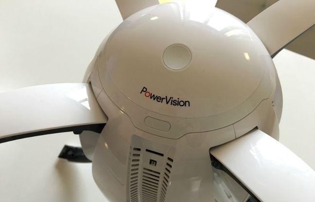 Le PowerEgg de PowerVision sera lancée en octobre à 1499 euros.