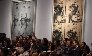 Deux portraits sérigraphiés d'Elvis Presley et de Marlon Brando vendus 150 millions de dollars de New York