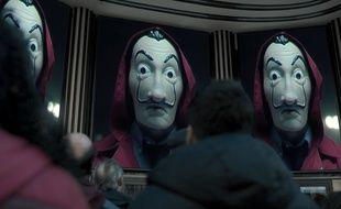 La saison 3 de «La Casa de Papel» réalise le meilleur démarrage pour une série Netflix non-anglophone.