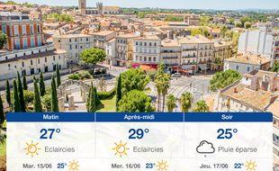 Météo Montpellier: Prévisions du lundi 14 juin 2021