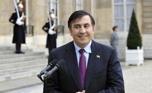 Mikheïl Saakachvili, le 13 novembre 2008 au Palais de l'Elysée, à Paris